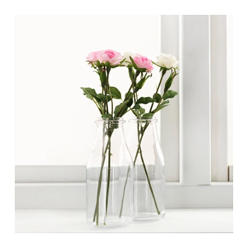 smycka artificial flower rose pink 30 cm ikea. Black Bedroom Furniture Sets. Home Design Ideas