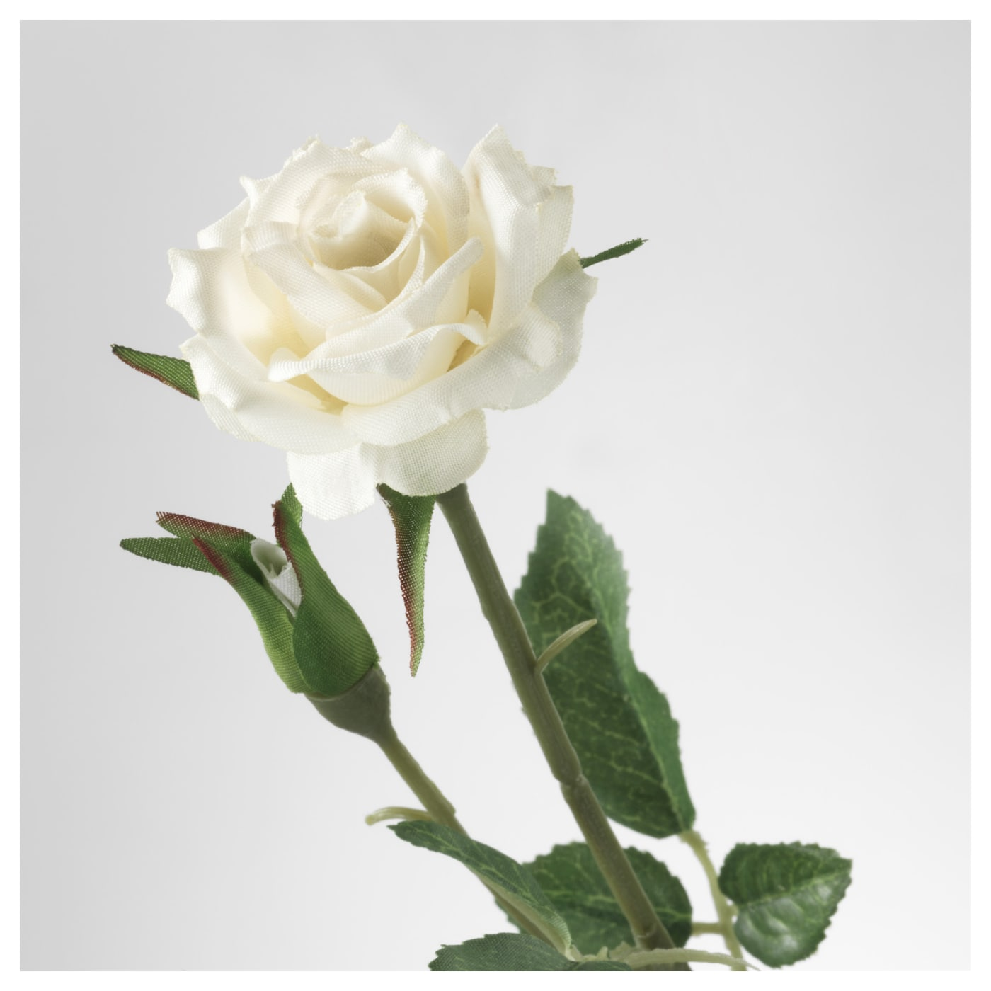 Smycka artificial flower rosewhite 30 cm ikea ikea smycka artificial flower the stem can be shortened by means of cutting pliers mightylinksfo