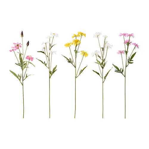SMYCKA Artificial flower IKEA Lifelike artificial flower that remain just as fresh-looking and beautiful year after year.