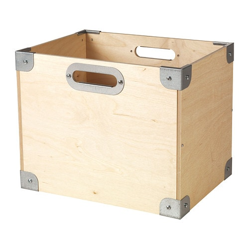 snack box plywood galvanised 37x27x30 cm ikea