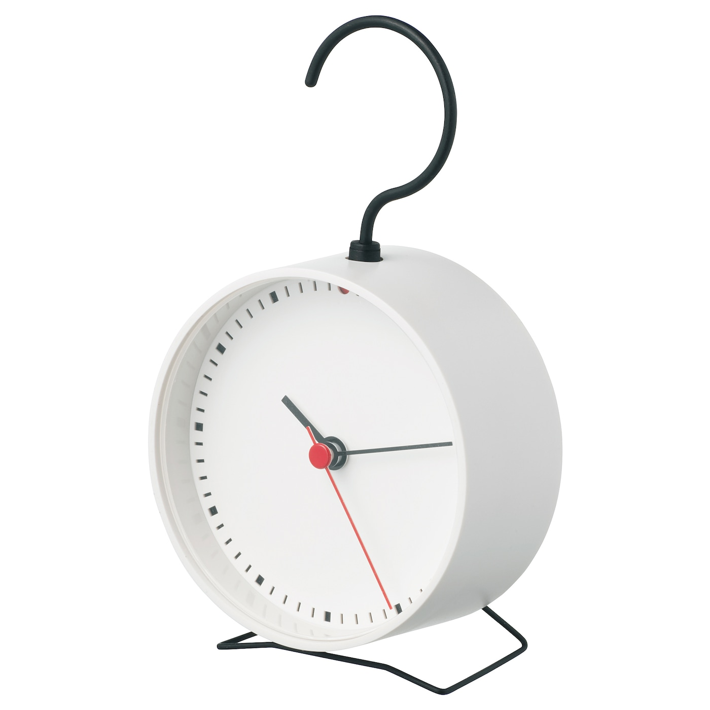 IKEA SNIFFA clock No disturbing ticking sounds since the clock has a silent quartz movement.