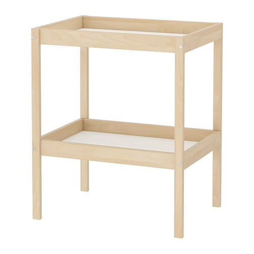 Ikea Sniglar Changing Table Comfortable Height For Changing The Baby