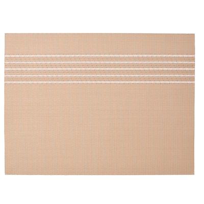 SNOBBIG Place mat, light red/beige, 45x33 cm