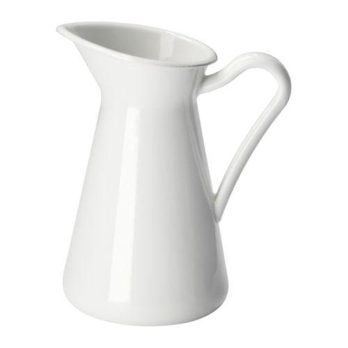 Sockerrt Vase White 16 Cm Ikea