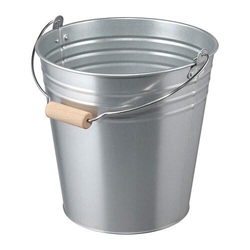 Socker Bucket Plant Pot In Outdoor Galvanised 10 L Ikea