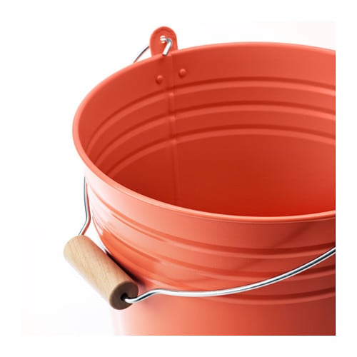 IKEA SOCKER bucket/plant pot