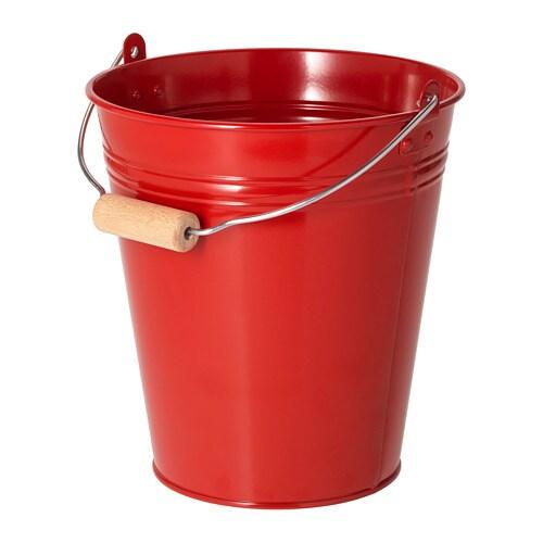 Socker Bucket Plant Pot In Outdoor Red 10 L Ikea