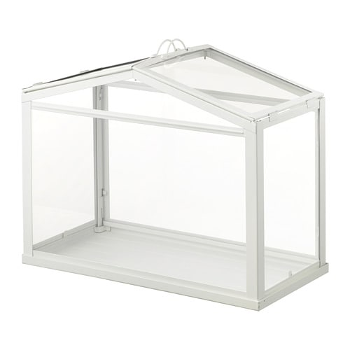 Ikea Socker Greenhouse Provides A Good Environment For Seeds To Sprout And Plants Grow