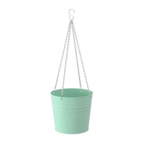 Hanging Light With Planter: SOCKER Hanging Planter In/outdoor/light Green 19 Cm