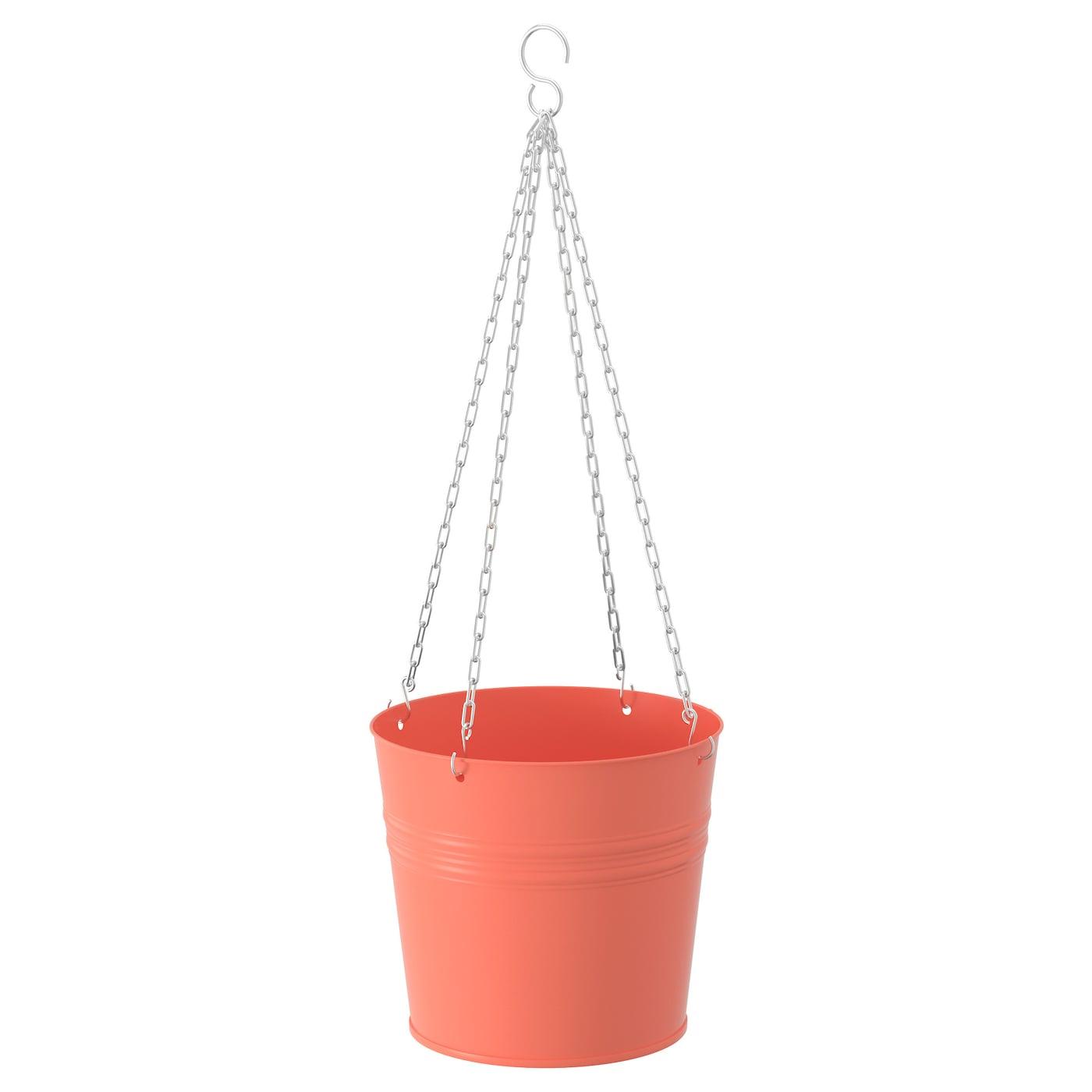 Socker Hanging Planter In Outdoor Orange 19 Cm Ikea