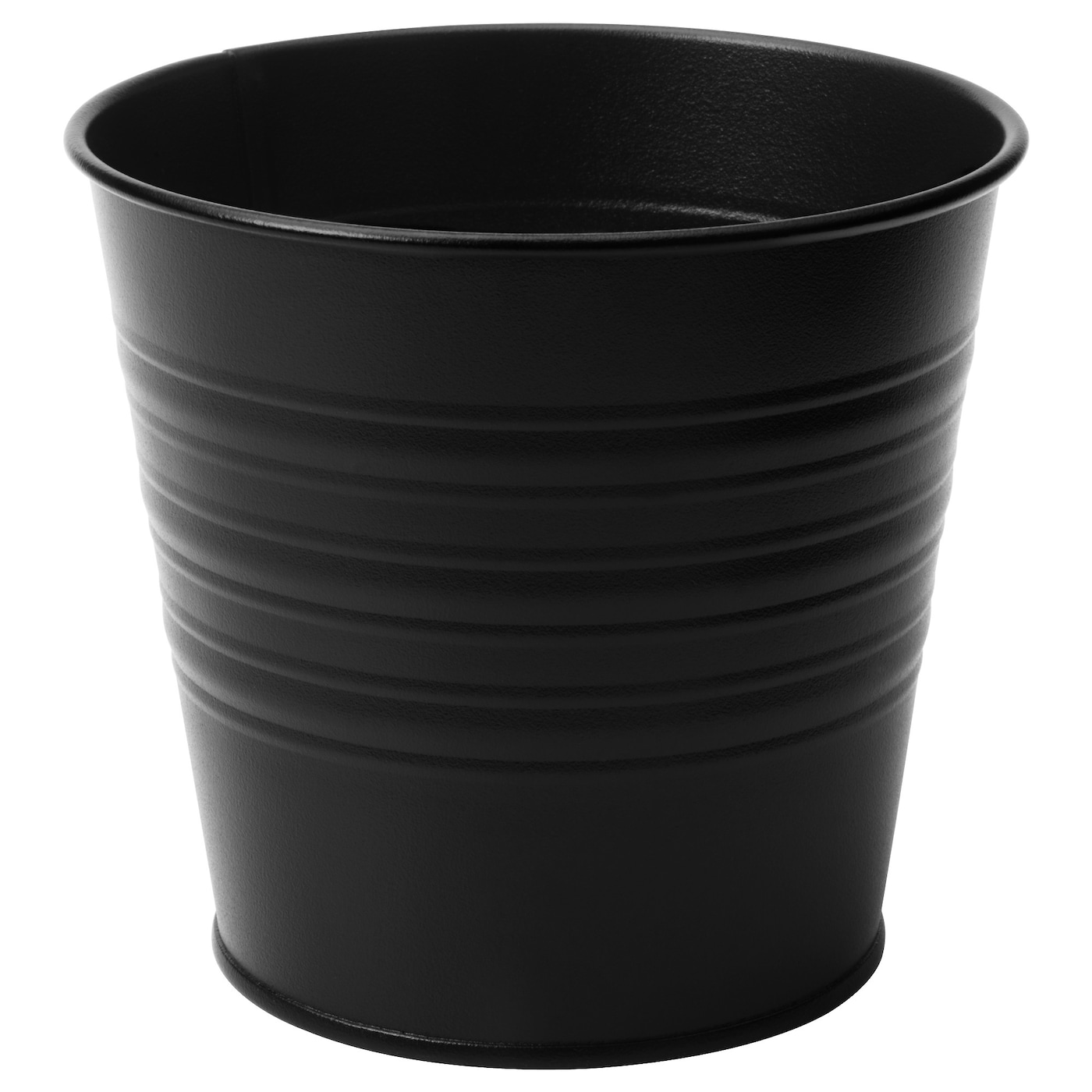Plants pots indoor plant pots ikea for Black planters ikea