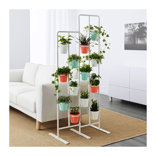 Socker Plant Stand In Outdoor White 162 Cm Ikea