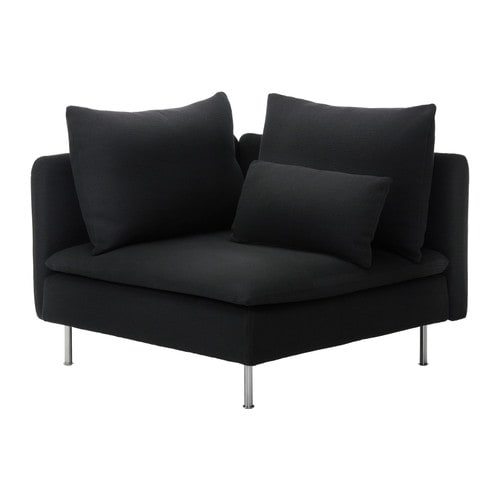 SÖDERHAMN Corner section IKEA A seating series with sections that can be connected in different ways or used as solitaires; combine as you like.