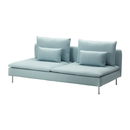 SÖDERHAMN Sofa-bed section IKEA Readily converts into a comfortable bed.  Simply turn the seat cushions around and make the bed.