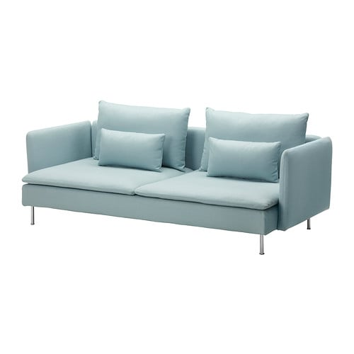 SÖDERHAMN Sofa-bed IKEA Readily converts into a comfortable bed.   Simply turn the seat cushions around and make the bed.