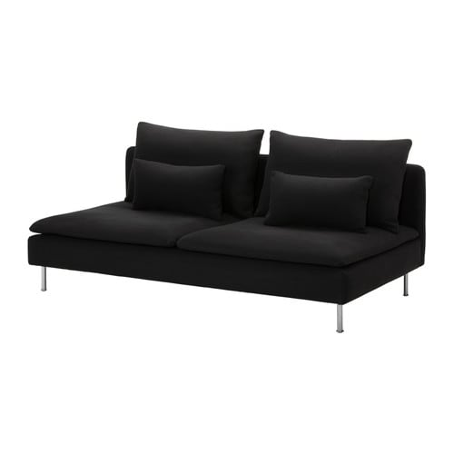 SÖDERHAMN Three-seat section IKEA A seating series with sections that can be connected in different ways or used as solitaires; combine as you like.