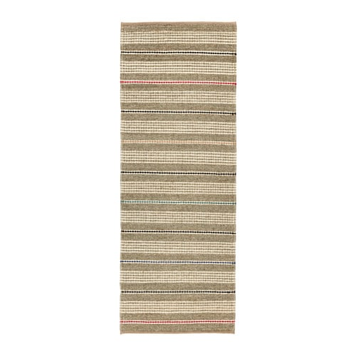 Soderup Rug Flatwoven Natural Multicolour 75 X 200 Cm Ikea