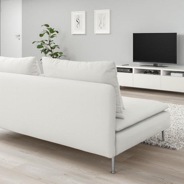 SÖDERHAMN 3-seat section Finnsta white 186 cm 99 cm 83 cm 186 cm 48 cm 40 cm