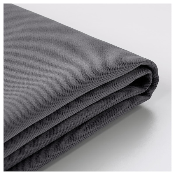 SÖDERHAMN Armrest cover, Samsta dark grey