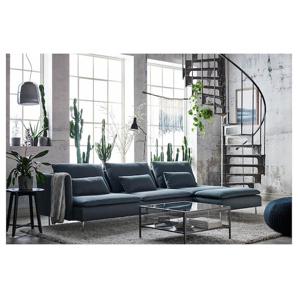 SÖDERHAMN Finnsta turquoise, Chaise longue - IKEA