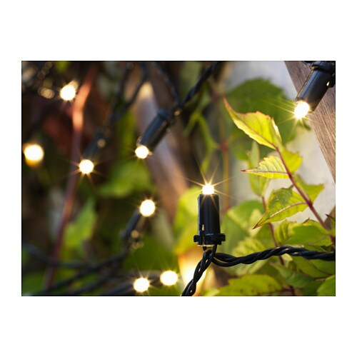 Captivating IKEA SOLARVET LED Lighting Chain With 24 Lights Easy To Use Because No  Cables Or Plugs