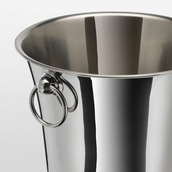 SOLDRÄNKT Wine cooler, stainless steel, 20 cm