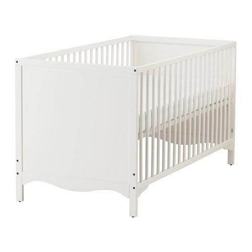 solgul cot white 70x140 cm ikea. Black Bedroom Furniture Sets. Home Design Ideas