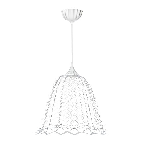 SOLKULLEN LED pendant lamp IKEA Gives decorative patterns on the ceiling and on the wall.