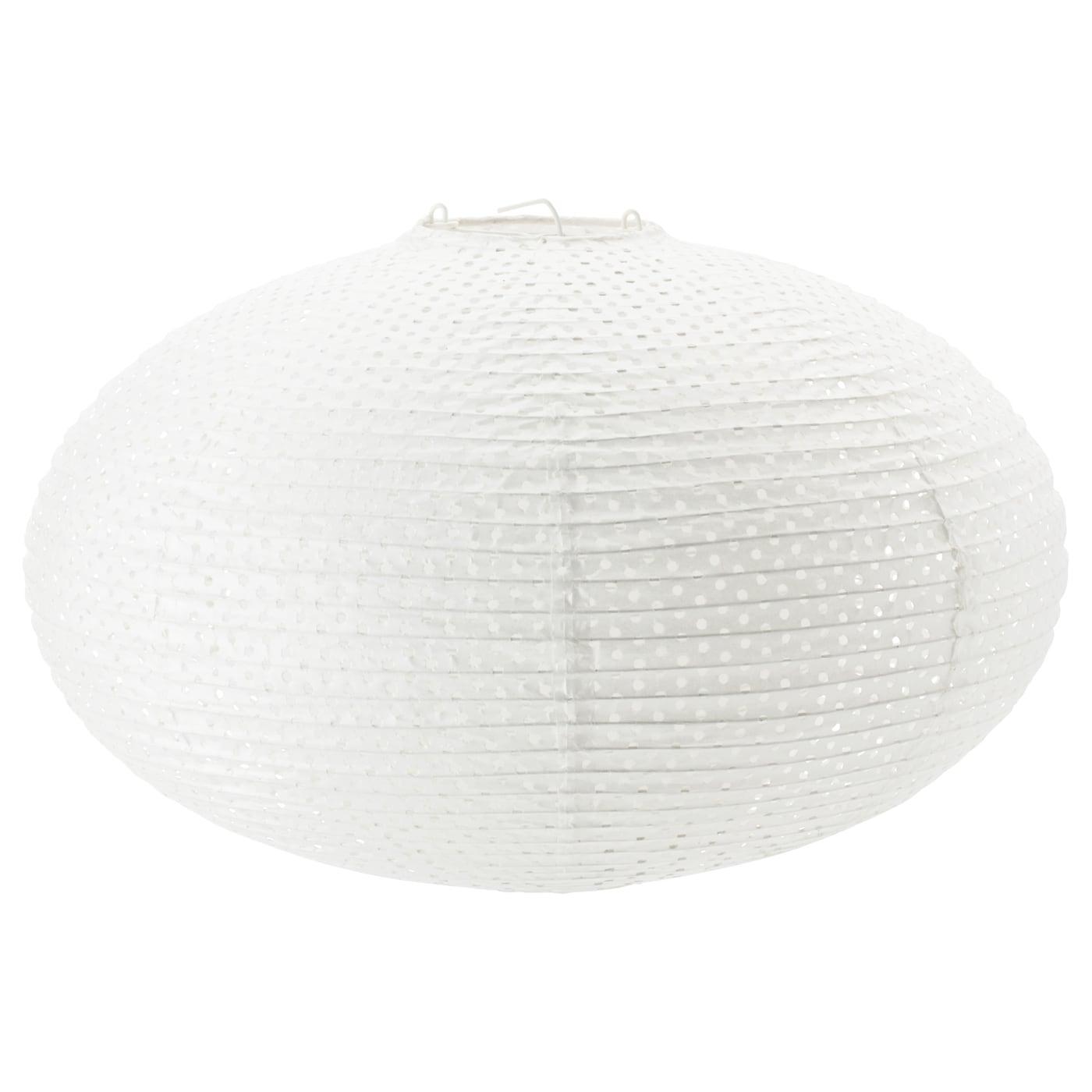 SOLLEFTEÅ Pendant lamp shade Round white - IKEA