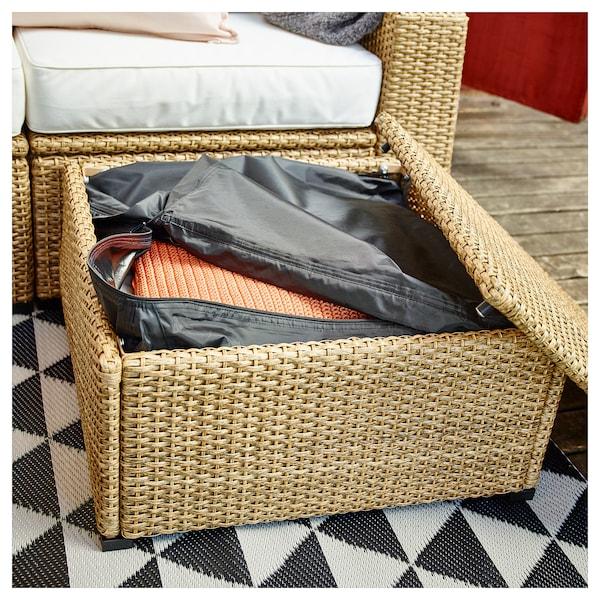 SOLLERÖN stool, outdoor brown 62 cm 62 cm 32 cm 62 cm 62 cm