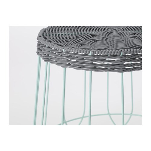Solrosfr Plant Stand In Outdoor Grey Green 30 Cm Ikea