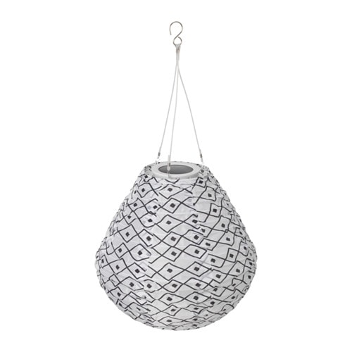 IKEA SOLVINDEN LED solar-powered pendant lamp
