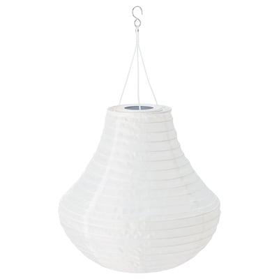 SOLVINDEN LED solar-powered pendant lamp outdoor/white 3 lm 34 cm 35 cm 35 cm