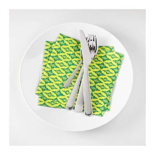 IKEA SOMMAR 2017 paper napkin The napkin is highly absorbent because it's made of three-ply paper.