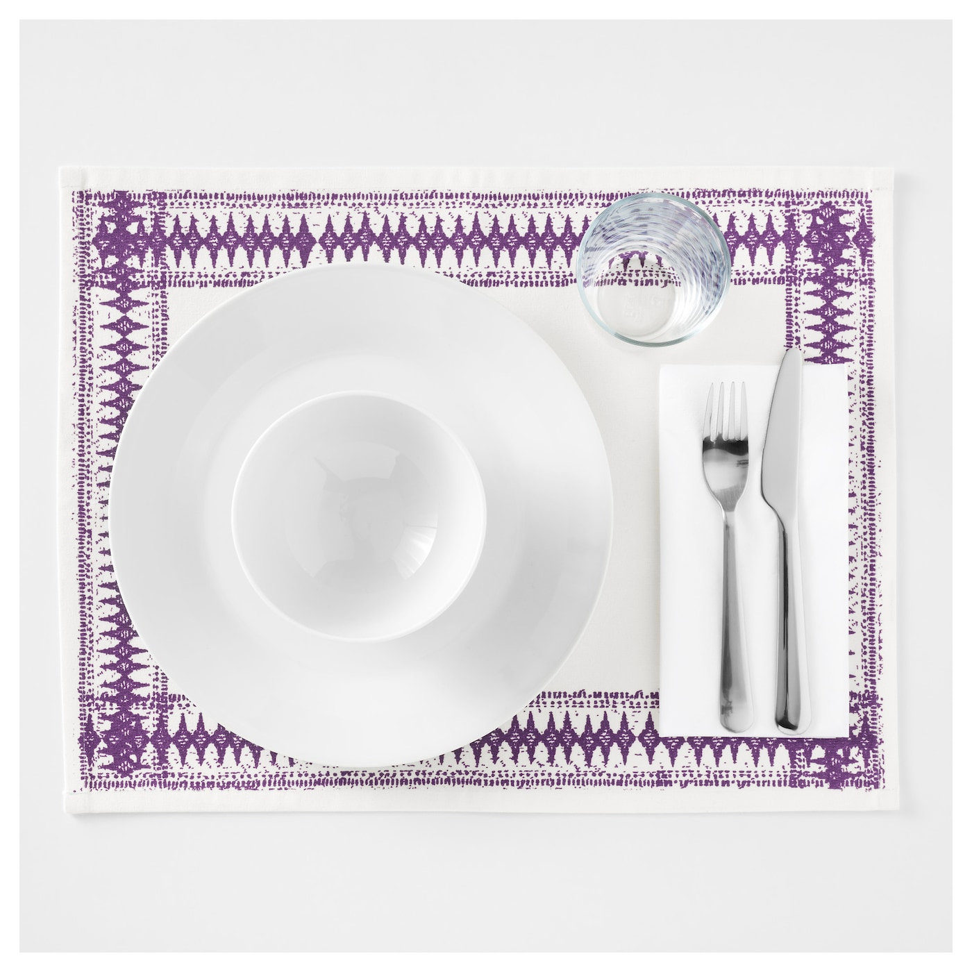 IKEA SOMMAR 2017 place mat Protects the table top surface and reduces noise from plates and cutlery.