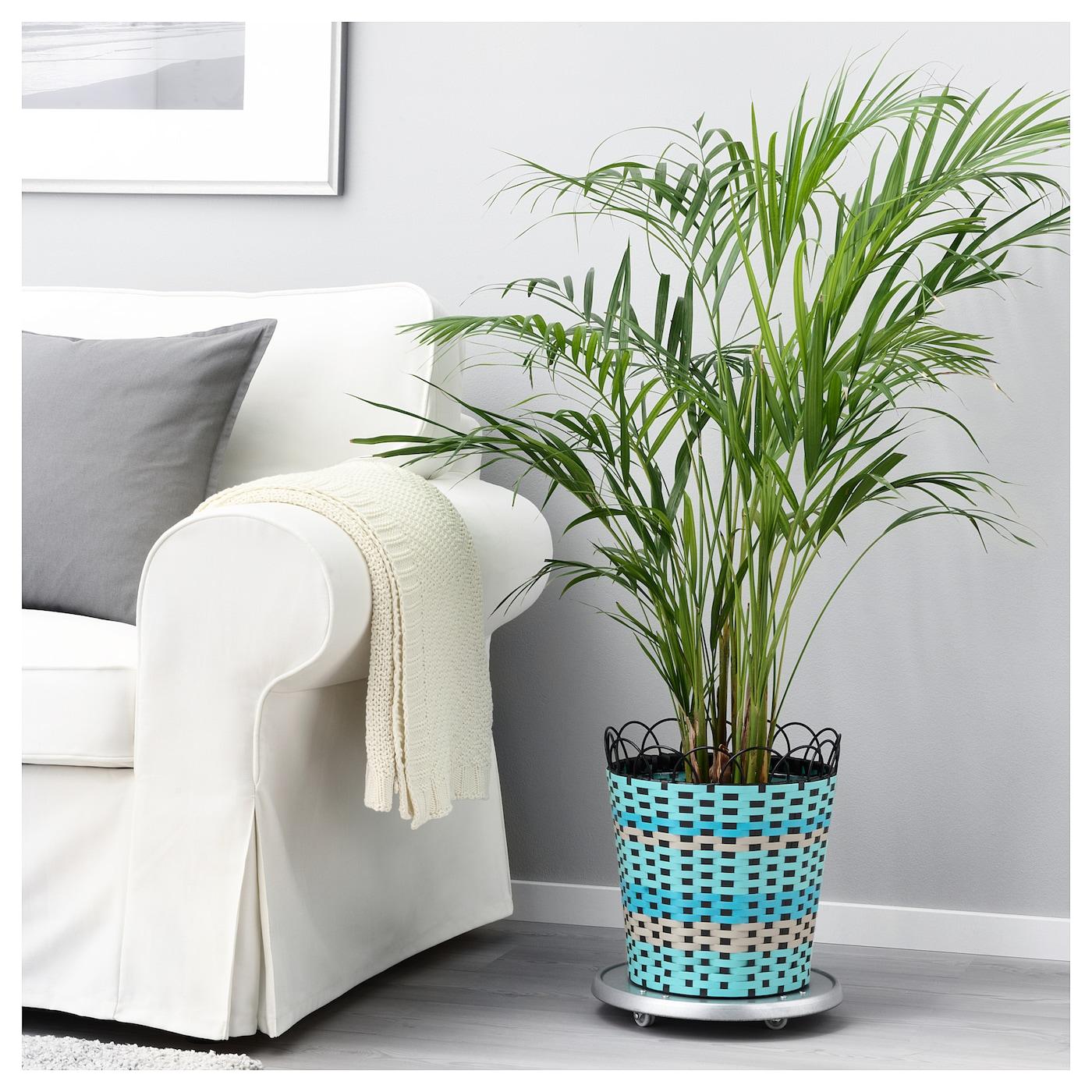 sommar 2018 plant pot in outdoor turquoise 24 cm ikea. Black Bedroom Furniture Sets. Home Design Ideas