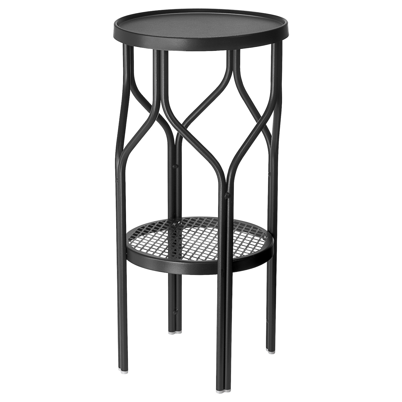 Sommar 2018 plant stand in outdoor black ikea for Black planters ikea
