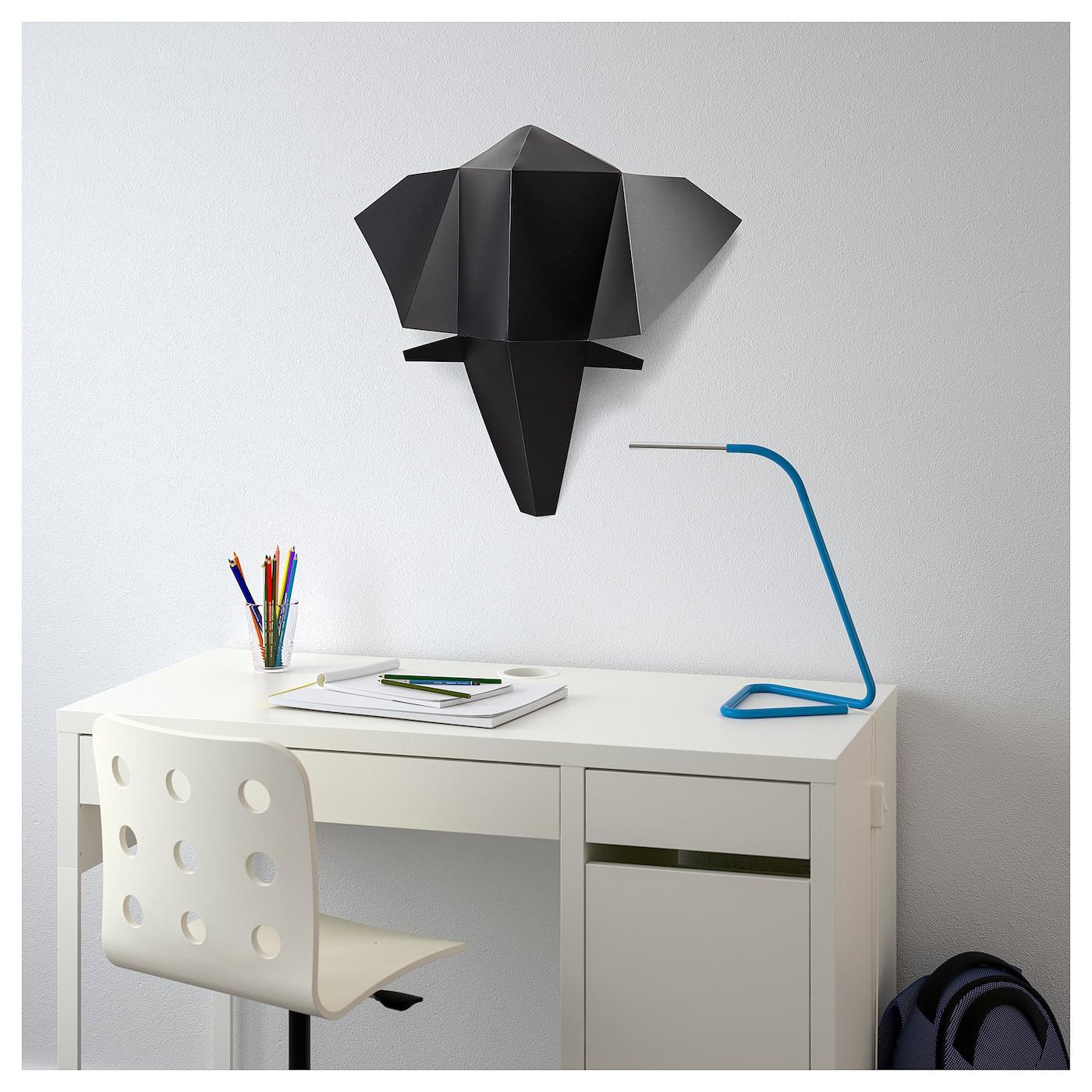 sommar 2018 wall decoration elephant 47x41 cm ikea. Black Bedroom Furniture Sets. Home Design Ideas