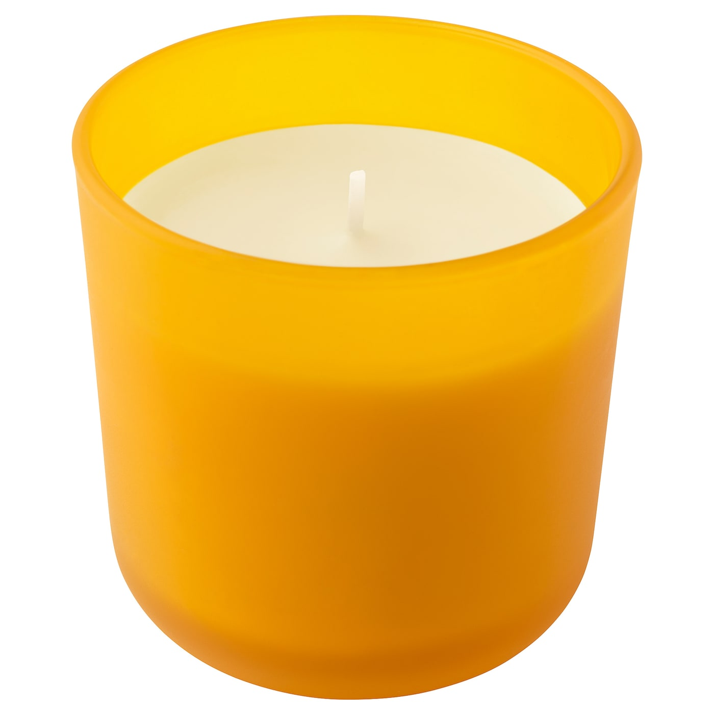 IKEA SOMMAR 2019 scented candle in glass A crisp scent of lemon.
