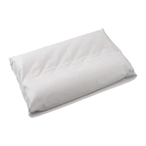SÖMNIG Pillowcase for ergonomic pillow IKEA Lyocell/cotton blend; soft bedlinen that aborbs and transports moisture away; keeps you dry all night long.