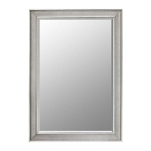 Songe Mirror Silver Colour 91x130 Cm Ikea