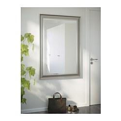 Songe mirror silver colour 91x130 cm ikea for Miroir argent ikea