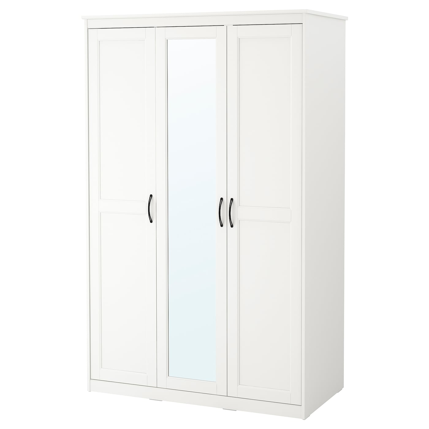 songesand wardrobe white 120 x 60 x 191 cm ikea. Black Bedroom Furniture Sets. Home Design Ideas