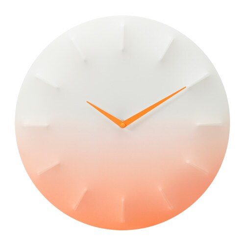 IKEA SPRALLIS wall clock Highly accurate at keeping time as it is fitted with a quartz movement.
