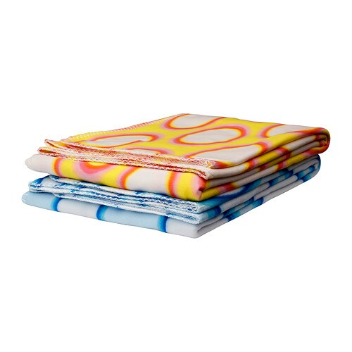 SPRINGKORN Throw IKEA The fleece throw is soft and easy to care for.   .