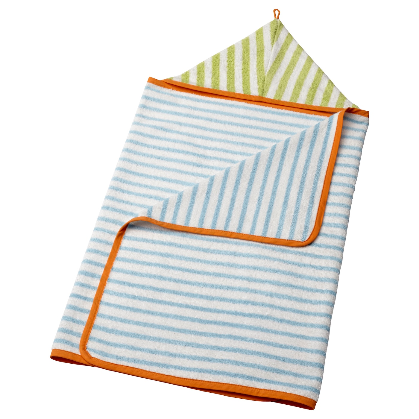 IKEA STÄNKA baby towel with hood Cotton is soft against your baby's skin and highly water absorbent.