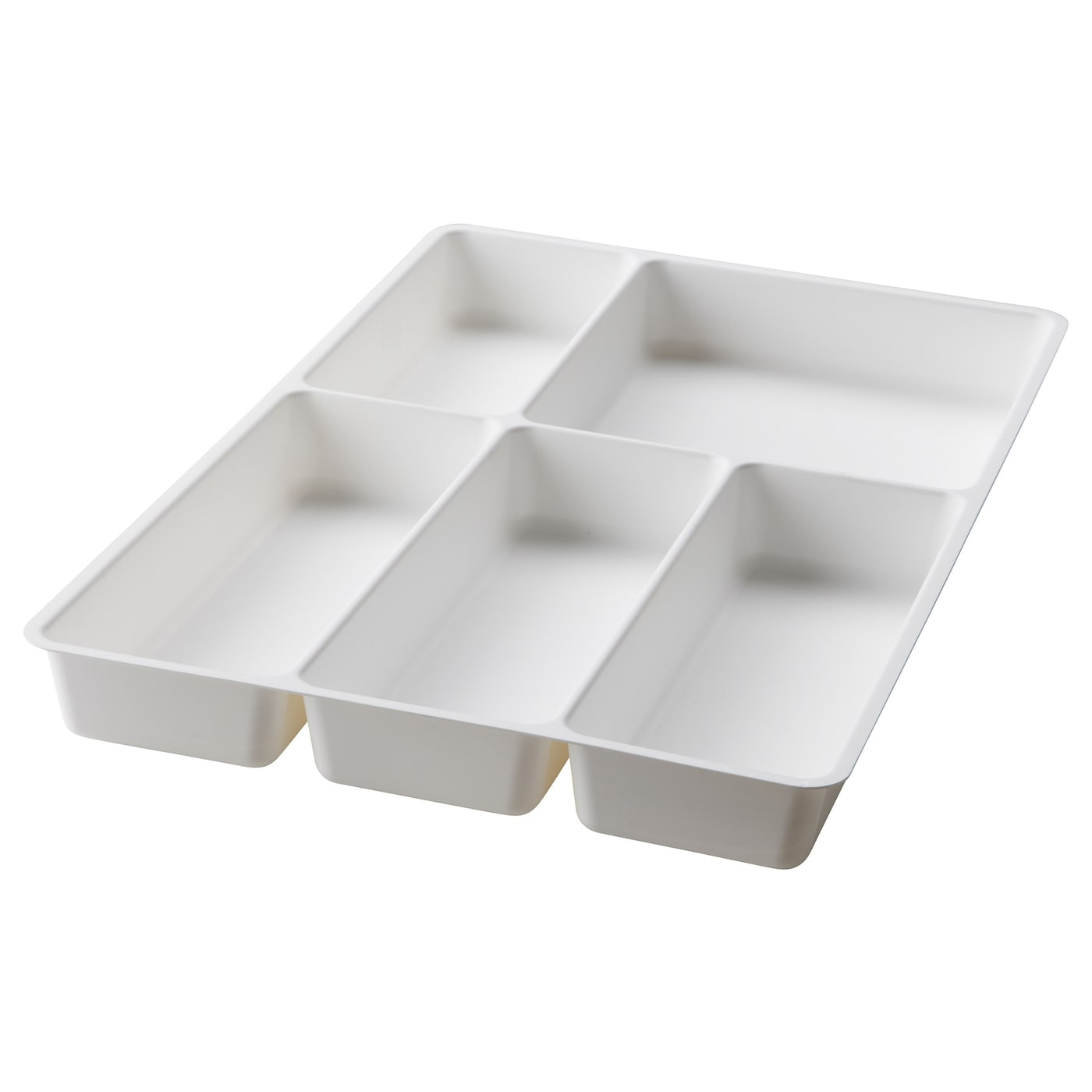 St dja cutlery tray white 31x50 cm ikea for Bureau 70 x 50