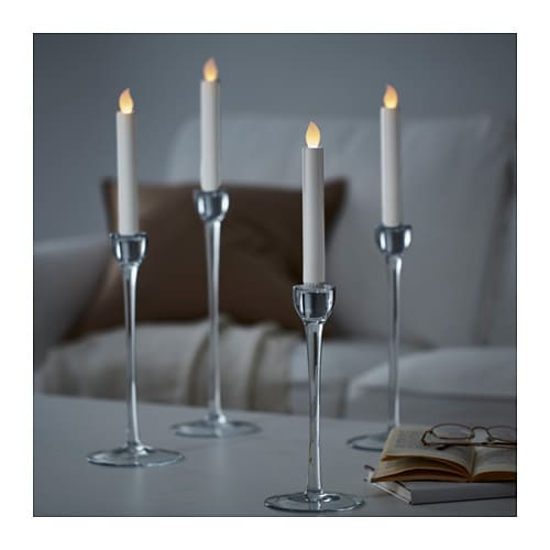 St Pen Led Candle Battery Operated White Ikea