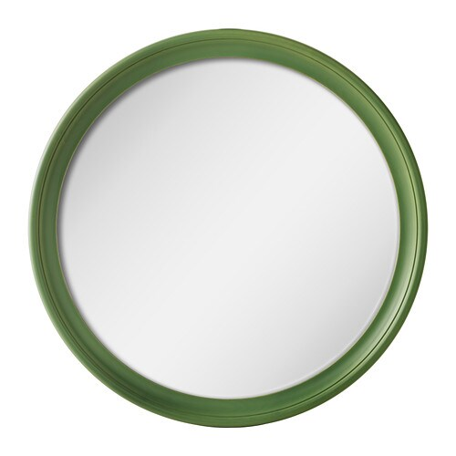 STABEKK Mirror IKEA Made of solid wood, which is a hardwearing and warm natural material.