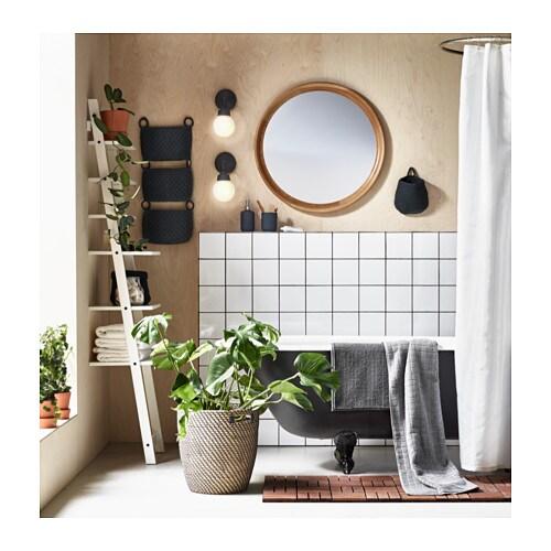 Ikea Bathroom Mirror Light: STABEKK Mirror Light Brown 75 Cm